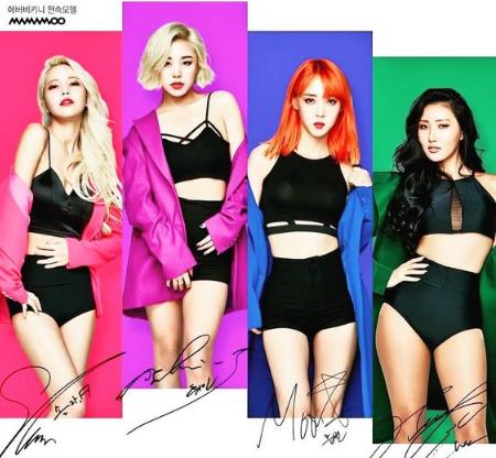 Profil & Fakta K-Pop MAMAMOO (마마무)